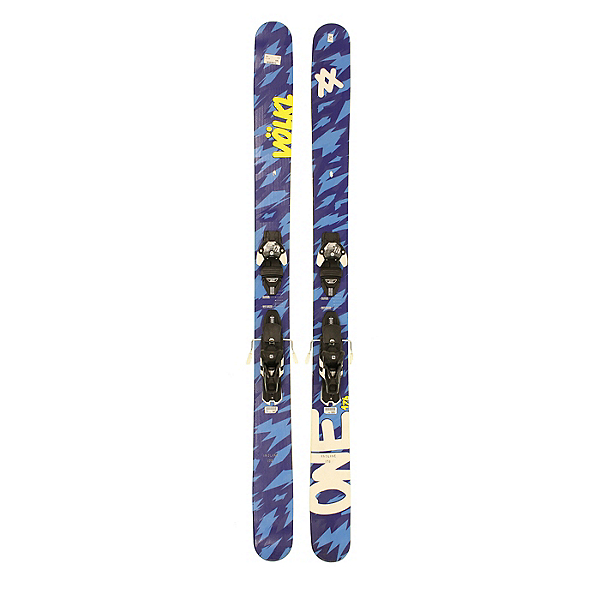 Used 2015 Volkl One Powder Skis Salomon Z12 Bindings A Cond, , 600