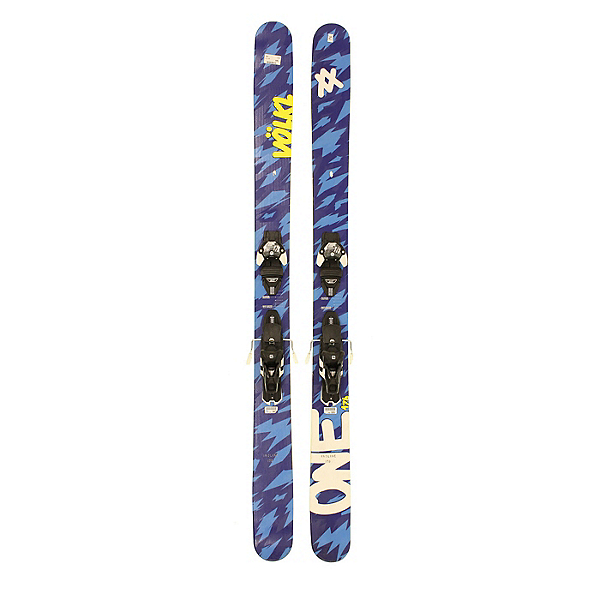Used 2016 Volkl One Powder Skis Salomon Z12 Bindings A Cond 2016, , 600