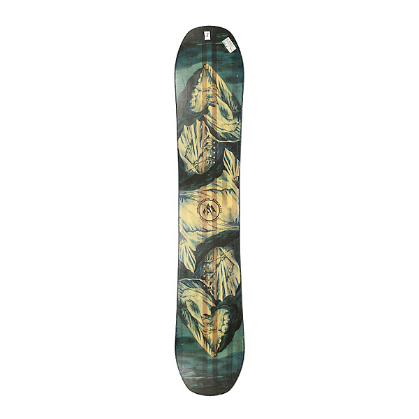 Used 2018 Jones Mountain Twin Snowboard Deck Only NO Bindings A Condition, , 600