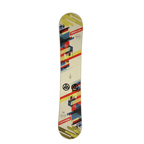 Used Used 2016 High Society Banzai Snowboard, Deck Only, No Bindings SILVER COND, , 600