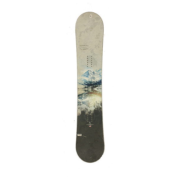 Used Used 2017 High Society Temerity Snowboard, Deck Only, No Bindings Silver Cond, , 600