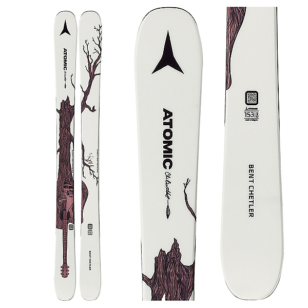 Atomic Bent Chetler Mini Kids Skis 2020, , 600