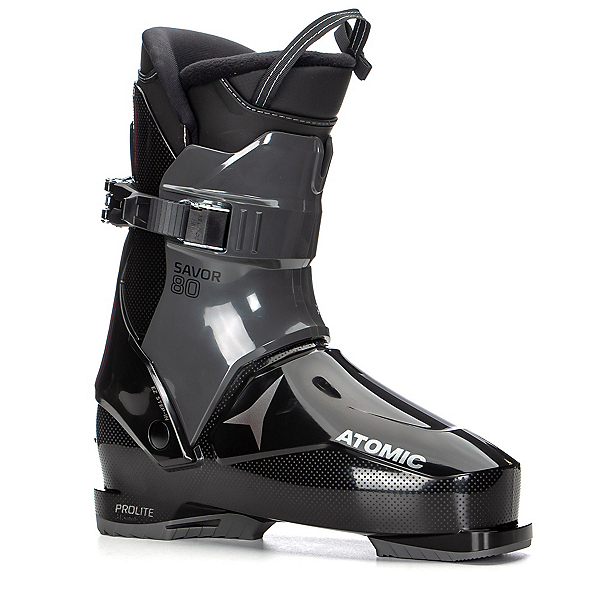 Atomic Savor 80 Mens Rear Entry Ski Boots 2020, Black-Anthracite, 600