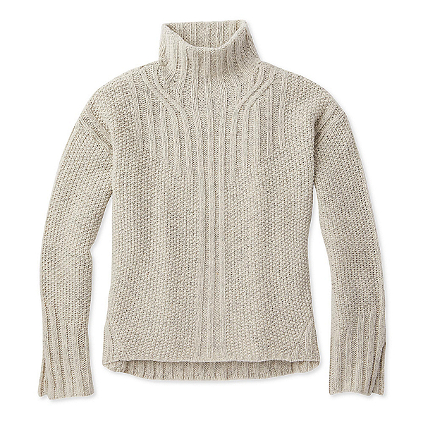 SmartWool Spruce Creek Womens Sweater, Ash Heather, 600