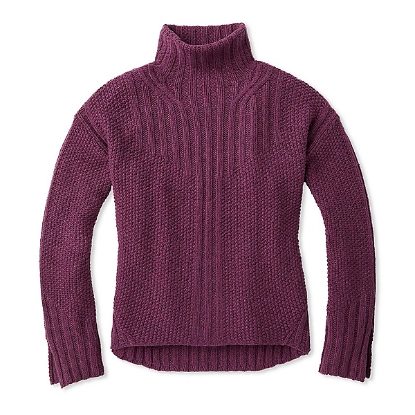 SmartWool Spruce Creek Womens Sweater 2020, Sangria Heather, 600