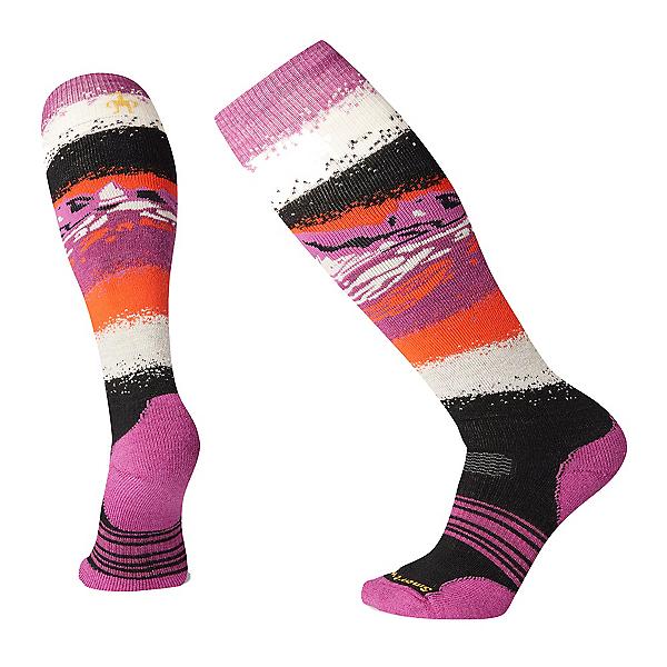 SmartWool PHD Snow Medium Womens Snowboard Socks 2020, Black, 600