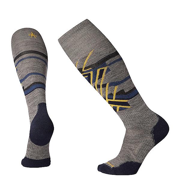 SmartWool PHD Ski Medium Patterned Ski Socks 2020, , 600