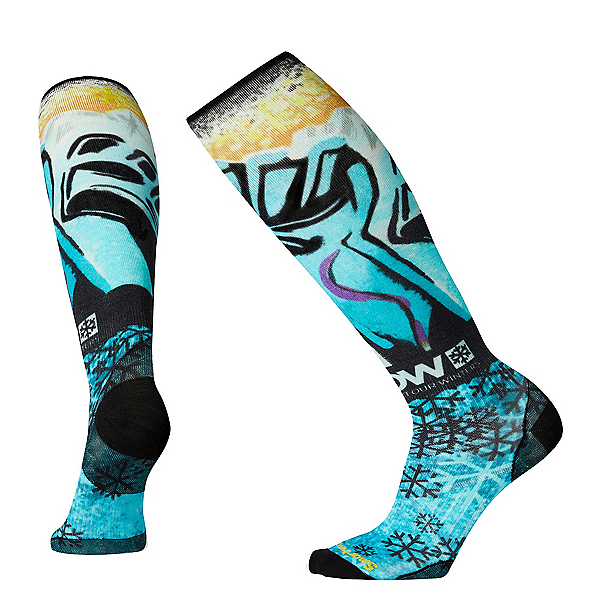 SmartWool PHD Snow Pow Ultra-Light Snowboard Socks, , 600