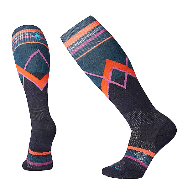 SmartWool PhD Ski Ultra-Light Pattern Womens Ski Socks, , 600
