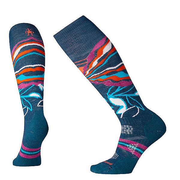 SmartWool PhD Ski Medium Patterned Womens Ski Socks 2020, , 600