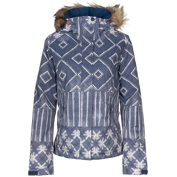Roxy Jet Ski SE Faux Fur Womens Insulated Snowboard Jacket 2020, , 600