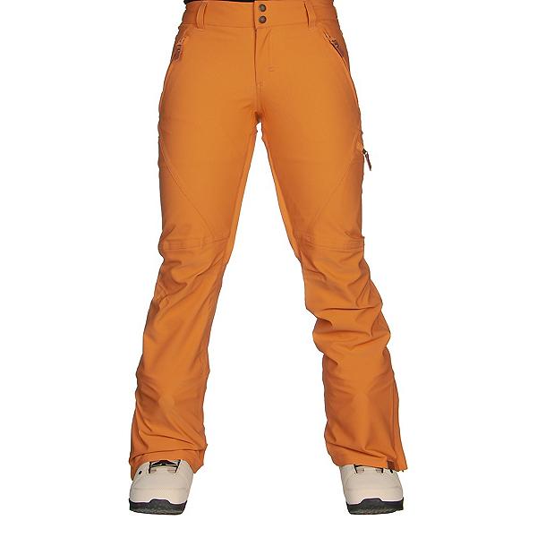 Roxy Cabin Womens Snowboard Pants, Spruce Yellow, 600