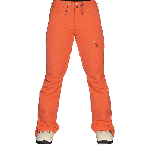 Roxy Nadia Womens Snowboard Pants, Living Coral, 600