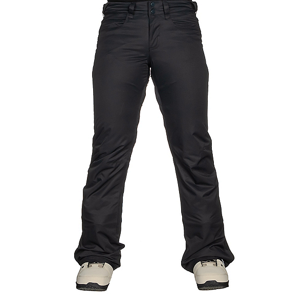 Roxy Backyard Womens Snowboard Pants, True Black, 600