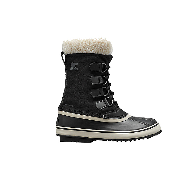 Sorel Winter Carnival Womens Boots, Black-Stone, 600