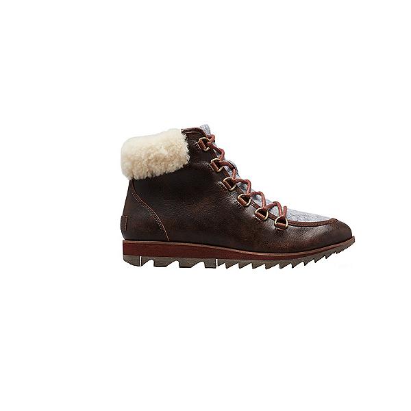 Sorel Harlow Lace Cozy Womens Boots, Felt-Burro, 600