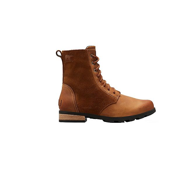Sorel Emelie Short Lace Womens Boots, Camel Brown, 600