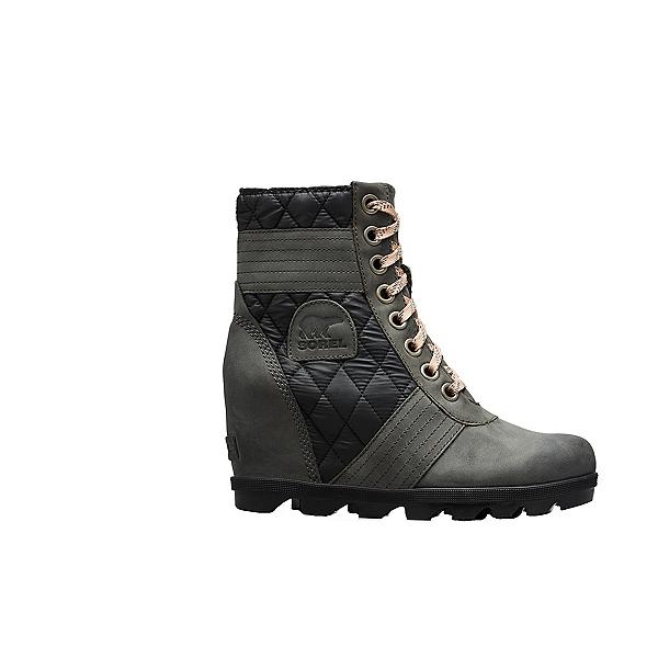 Sorel Lexie Wedge Womens Boots, Dark Slate, 600