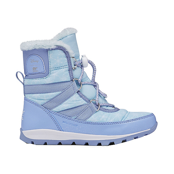Sorel Frozen 2 Whitney Short Lace Girls Boots, Frosted Purple, 600