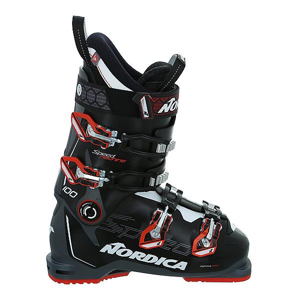 Nordica Speedmachine 100 Ski Boots, Black-Anthracite-Red, 600
