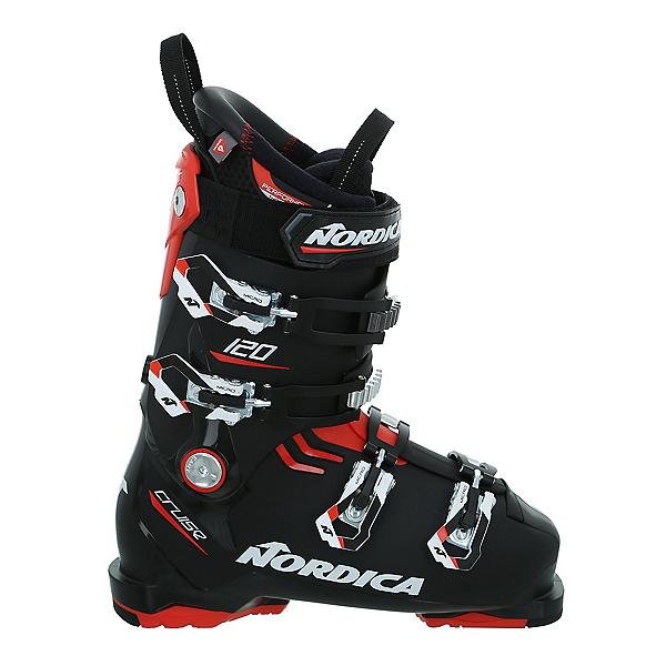 Nordica Cruise 120 Ski Boots, Black-Red-White, 600
