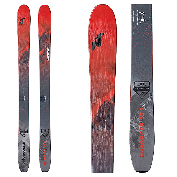 Nordica Enforcer 95 S Kids Skis 2020, , 600