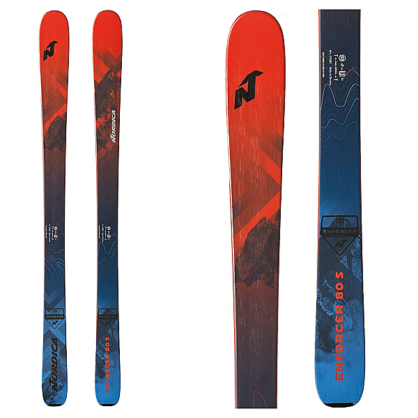Nordica Enforcer 80 S Kids Skis 2020, , 600