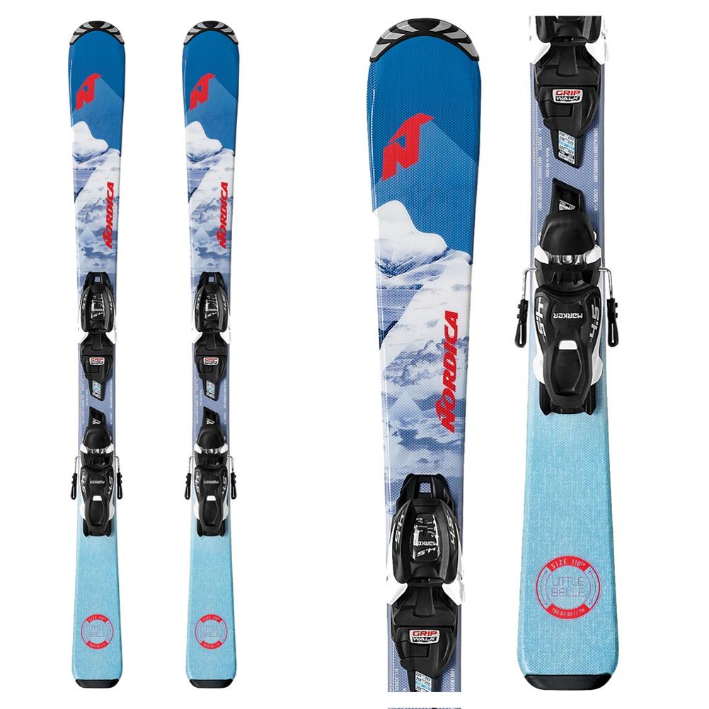 Nordica Little Belle M Kids Skis with JR 4.5 FDT Bindings 2020 im test