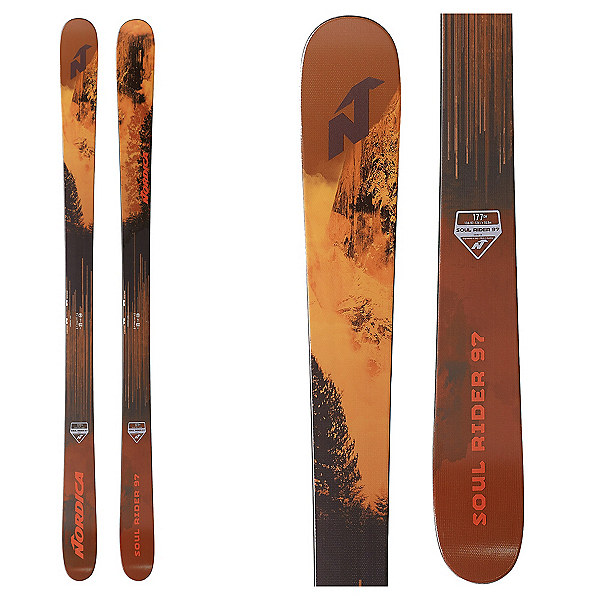Nordica Soul Rider 97 Skis 2020, , 600