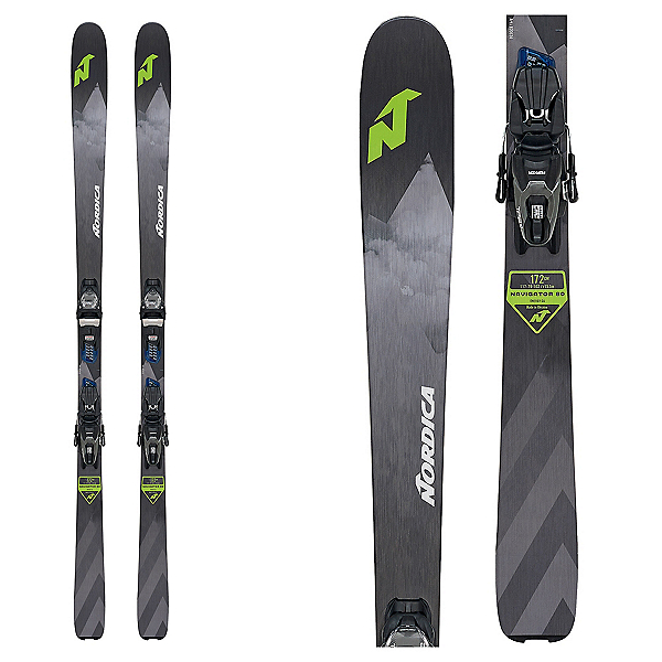 Nordica Navigator 80 CA Skis with TP2 Compact 10 FDT Bindings, , 600