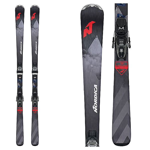 Nordica Navigator 75 CA Skis with TP2 Compact 10 FDT Bindings, , 600
