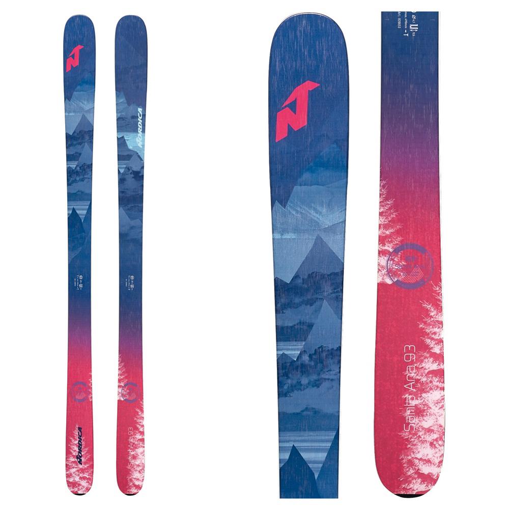 Nordica Santa Ana 93 Womens Skis 2020 im test
