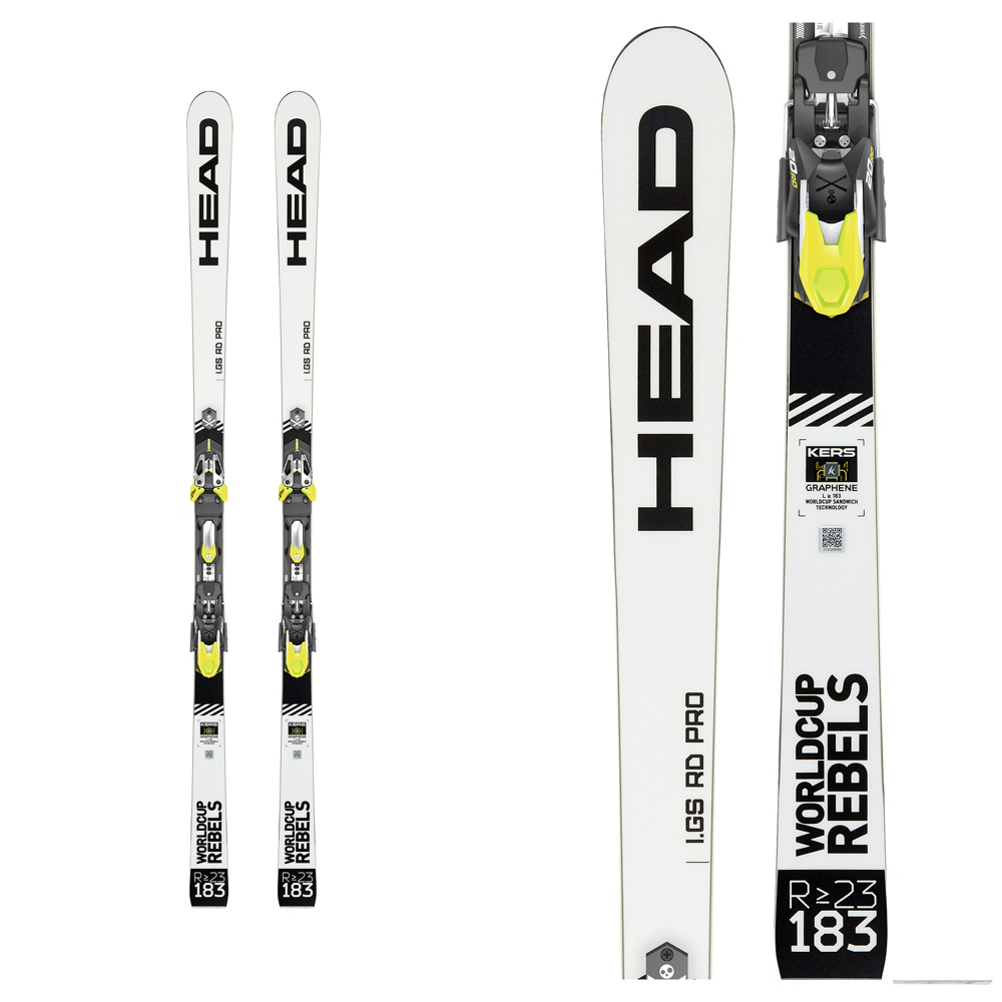 Head WC Rebels iGS RD Race Skis 2020