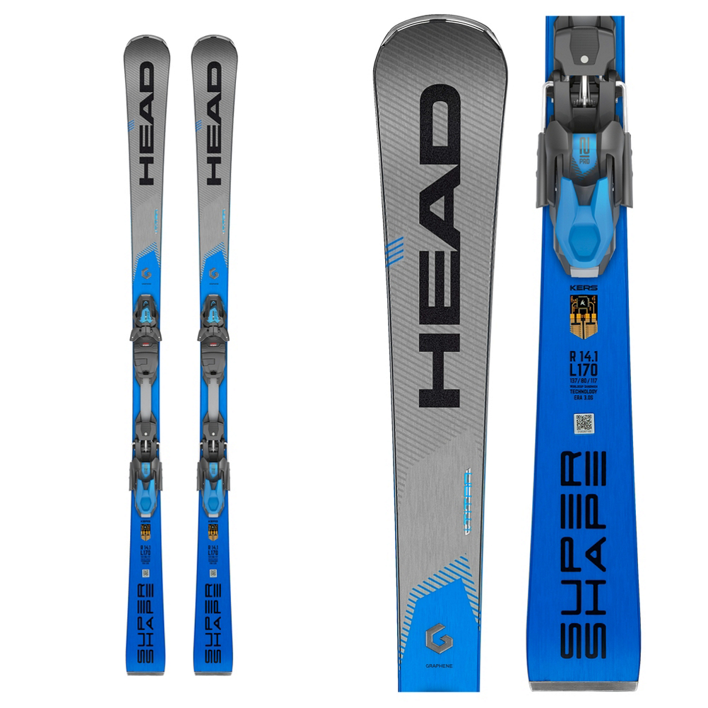 Head Supershape iTitan Skis with PRD 12 GW Bindings 2020