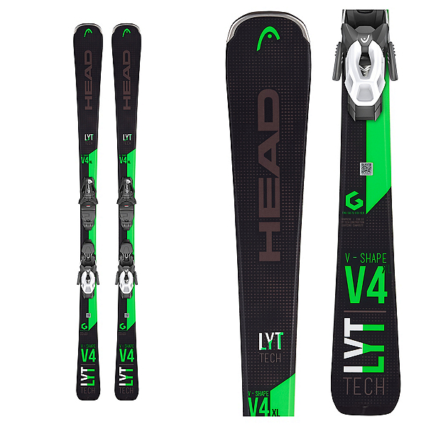 Head V-Shape V4 XL Skis with PR 11 GW Bindings 2020, , 600