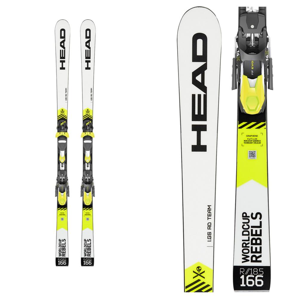 Head WC REBELS iGS RD TEAM Junior Race Skis 2020