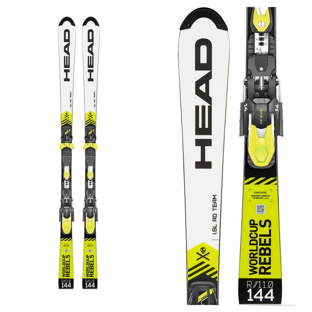 Head WC REBELS iSL RD TEAM Junior Race Skis 2020
