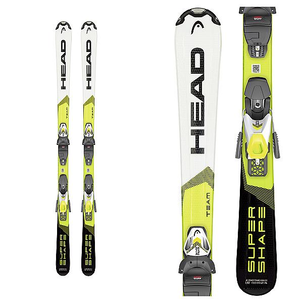 Head Supershape Team SLR Pro Kids Skis with SLR 7.5 GW Bindings 2020, , 600