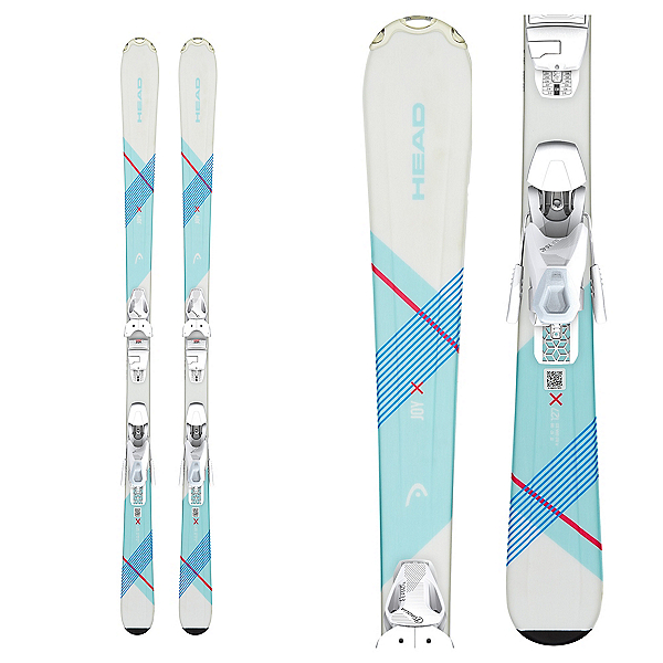 Head JOY SLR PRO 4.5 Kids Skis with SLR 4.5 Bindings, , 600
