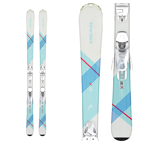 Head Joy SLR Pro 7.5 Kids Skis with SLR 7.5 AC Bindings 2020, , 600