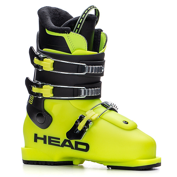 Head Z3 Kids Ski Boots 2021, Yellow-Black, 600