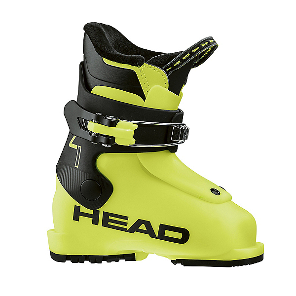 Head Z1 Kids Ski Boots, Yellow-Black, 600