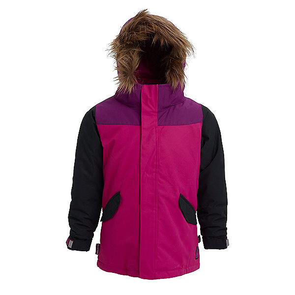 Burton Aubrey Toddler Girls Ski Jacket, Fuchsia Red Multi, 600