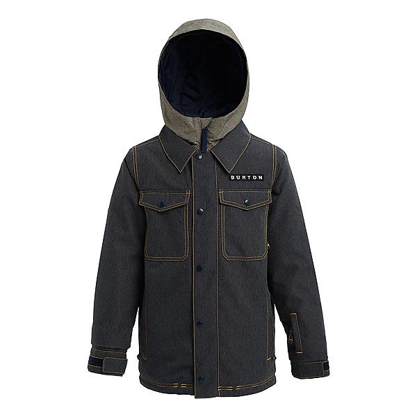 Burton Uproar Boys Snowboard Jacket, Denim, 600