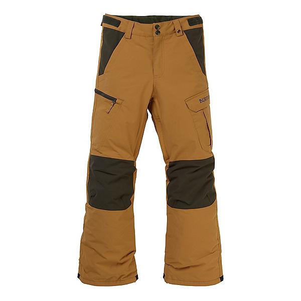 Burton Exile Cargo Kids Snowboard Pants, Wood Thrush, 600