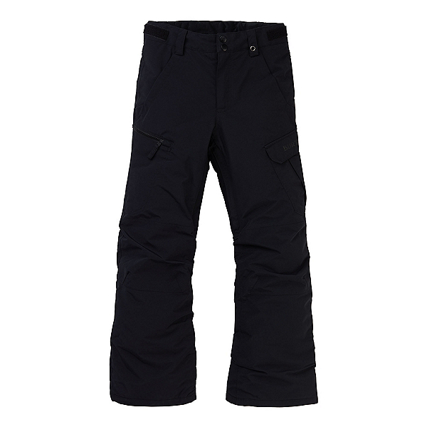 Burton Exile Cargo Kids Snowboard Pants, True Black, 600