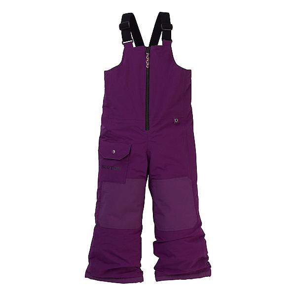 Burton Minishred Maven Bib Toddler Girls Ski Pants, Charisma, 600