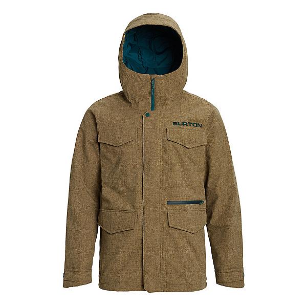 Burton Covert Mens Insulated Snowboard Jacket, Kelp Heather, 600