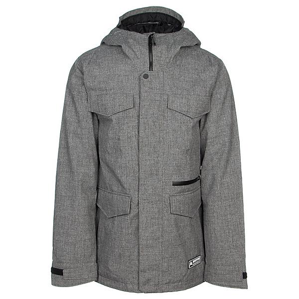 Burton Covert Mens Insulated Snowboard Jacket 2022, Bog Heather, 600