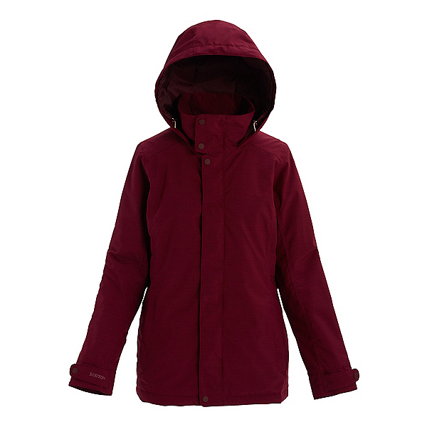 Burton Jet Set Womens Insulated Snowboard Jacket, Port Royal Heather, 600